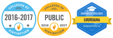 UNO College of Distinction Badges