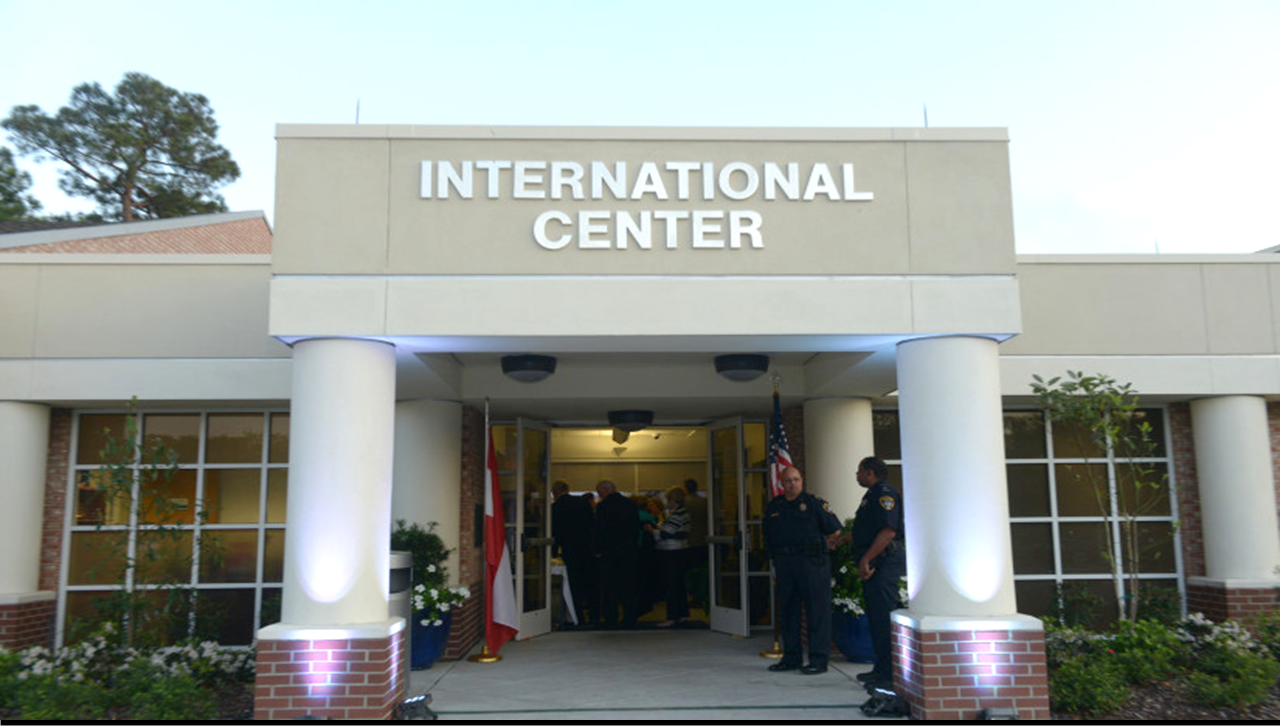 Front of the International Center