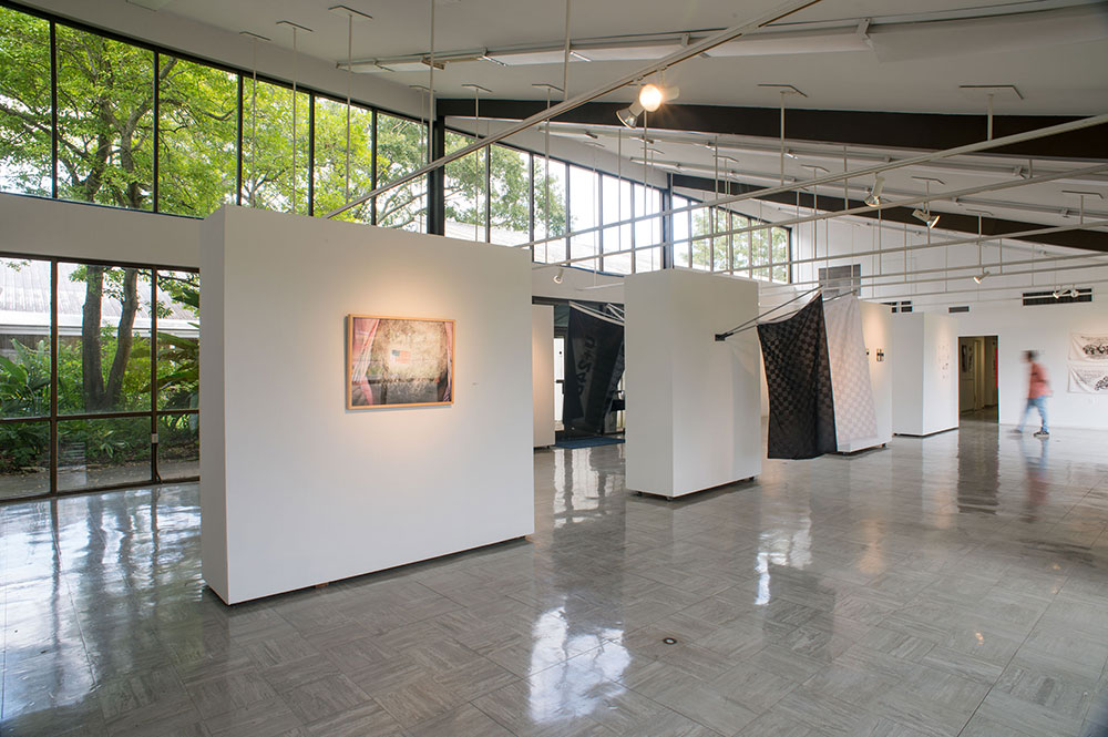 A gallery inside of the Fine Arts Building