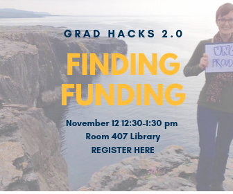 Sign up for Grad Hacks 2.0 Finding Funding for Graduate School