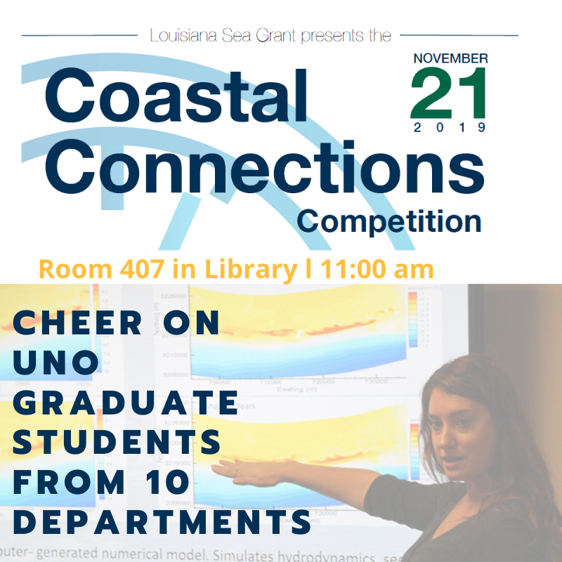 Coastal Connections Competition November 21