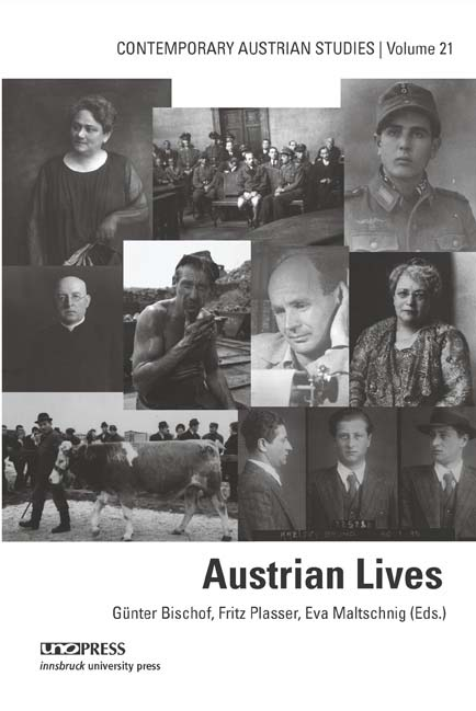 book cover for Austrian Lives
