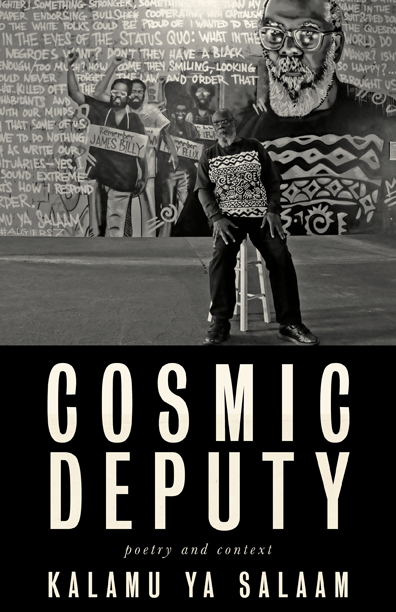 book cover for cosmic deputy
