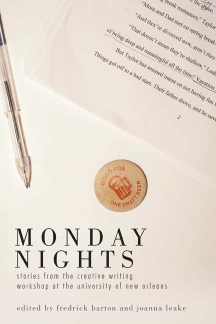book cover for Monday Nights