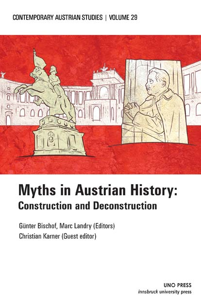 front cover for myths in Austrian History