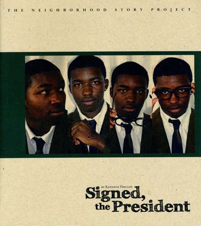 front cover of Signed, the President