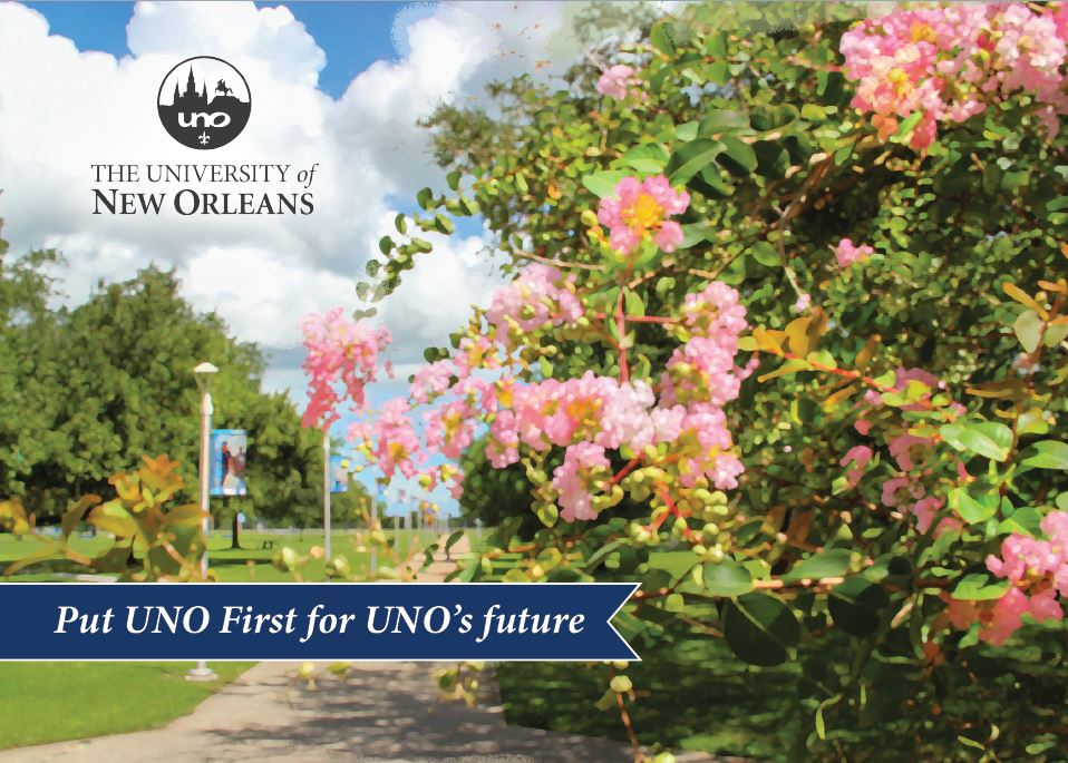 Spring into action with a gift to UNO First