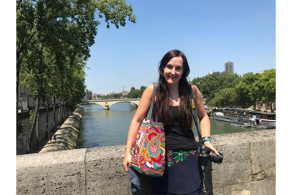 University of New Orleans graduate student Kathleen Bradshaw has been selected for a fellowship to study in Paris through the French American Fund.