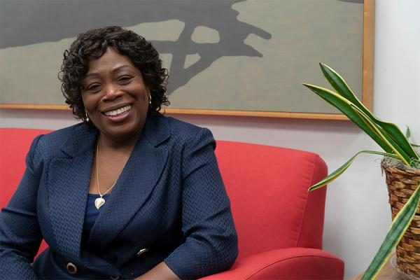Newtona (Tina) Johnson, the new associate provost for faculty and diversity affairs at the University of New Orleans.