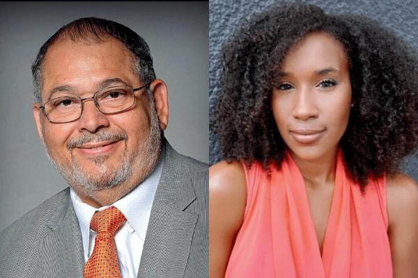 Mayor Tim Adams is the winner of the 2020 Homer Hitt Distinguished Alumni Award and Sheba Turk is the 2020 Homer Hitt Young Alumna of the Year.