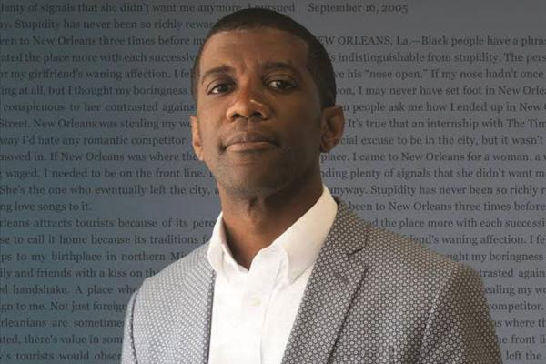 "Columnist Jarvis DeBerry chronicles the city of New Orleans in his new book, ""I Feel To Believe,"" released Thursday by the UNO Press."
