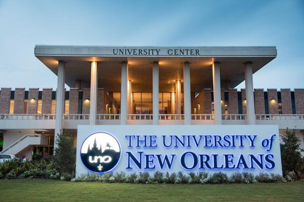 Homepage University Of New Orleans