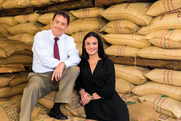 Allan Colley, president of Dupuy Storage and Forwarding, LLC, and his daughter Janet Colley Morse, who is vice president.