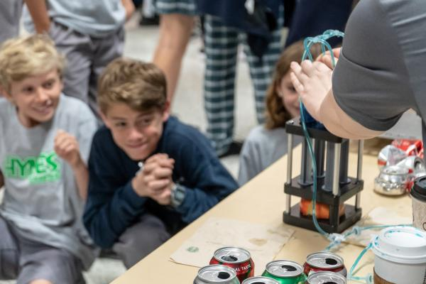 On Feb. 20, the University of New Orleans celebrated the value of engineering studies with a daylong event for area middle and high school students.