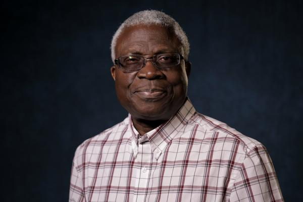 Niyi Osundare is a University of New Orleans English professor and one of Nigeria's most acclaimed poets.