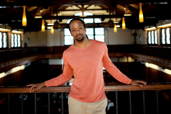 "Alumnus Jericho Brown earned the 2020 Pulitzer Prize in Poetry for his book, ""The Tradition."""