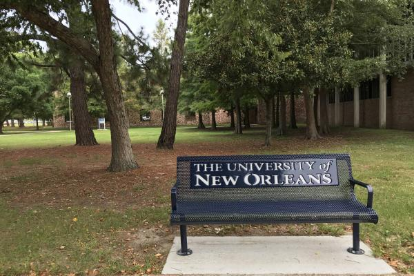 University Of New Orleans Benches