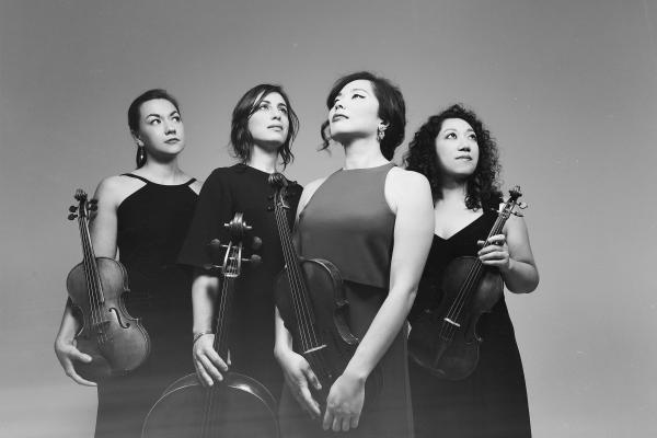 The Aizuri Quartet opens the 2018-19 Musical Excursions series