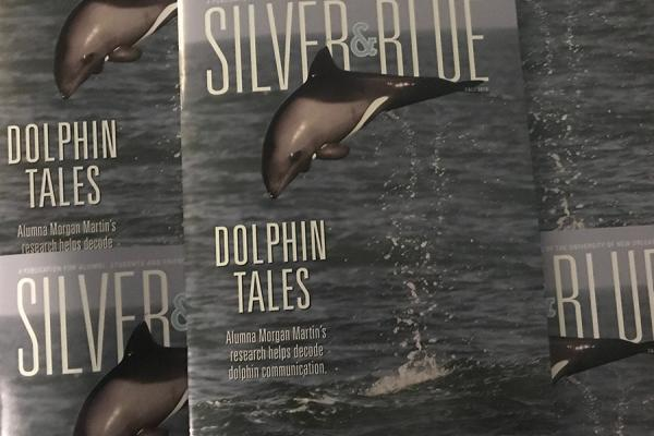 Be on the lookout for the fall 2018 issue of Silver & Blue magazine.