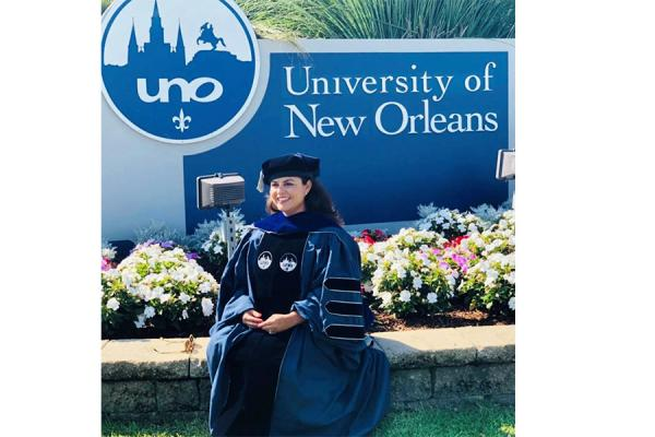 Alumna Ingrid Alvarado Nichols, who graduated in May, has been appointed deputy secretary general for the Belize National Commission for UNESCO and special advisor to the Ministry of Education.