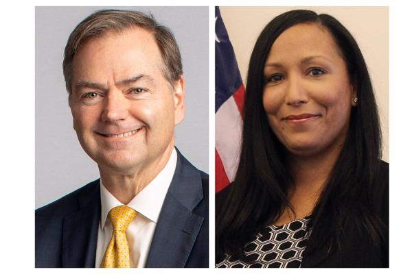 Phillip May (left) and Roxanna Rodriguez-Torres To Be Honored at 2019 Distinguished Alumni Gala.