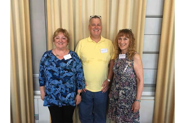 (from left) Kim Martin Long, dean of the College of Liberal Arts, Education and Human Development; Paul Bole, assistant professor of special education; and Linda Flynn-Wilson, professor of special education, participated in the symposium on disability and higher education in Innsbruck, Austria.