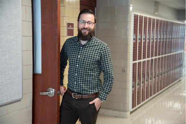 Alumnus Chris Dier is the 2020 Louisiana Teacher of the Year.