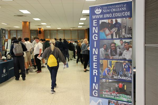 The University of New Orleans celebrated the value of engineering studies Wednesday, Feb. 19, with a daylong event for area middle and high school students.