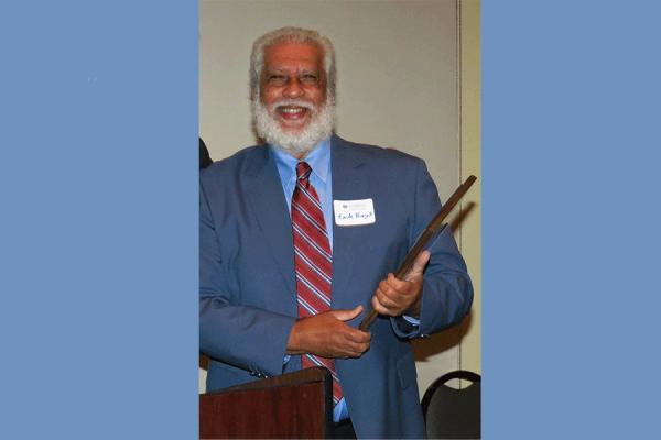 University of New Orleans professor emeritus of English and former Africana studies endowed professor Earle Bryant.