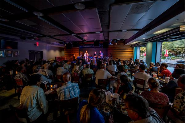 The spring 2021 Jazz at the Sandbar concert series kicks off April 7.